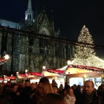 Christmas Market at Cologne Cathedral