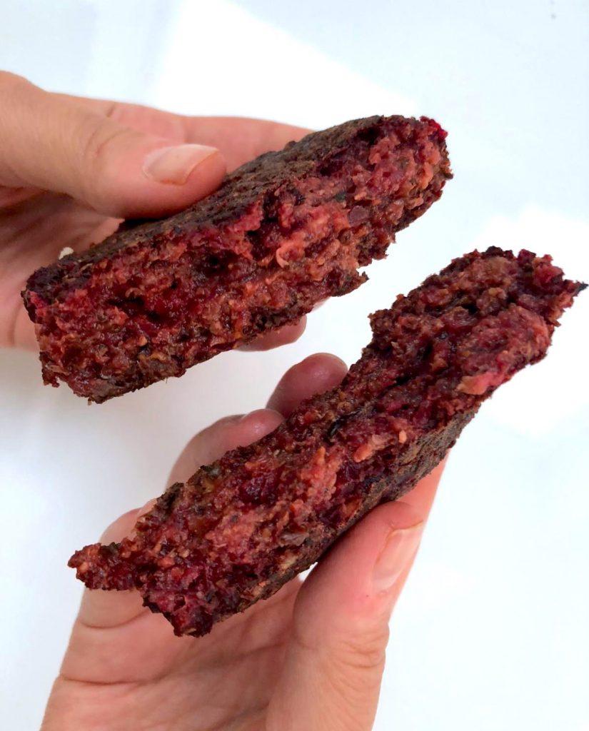 Beet Rice Patties