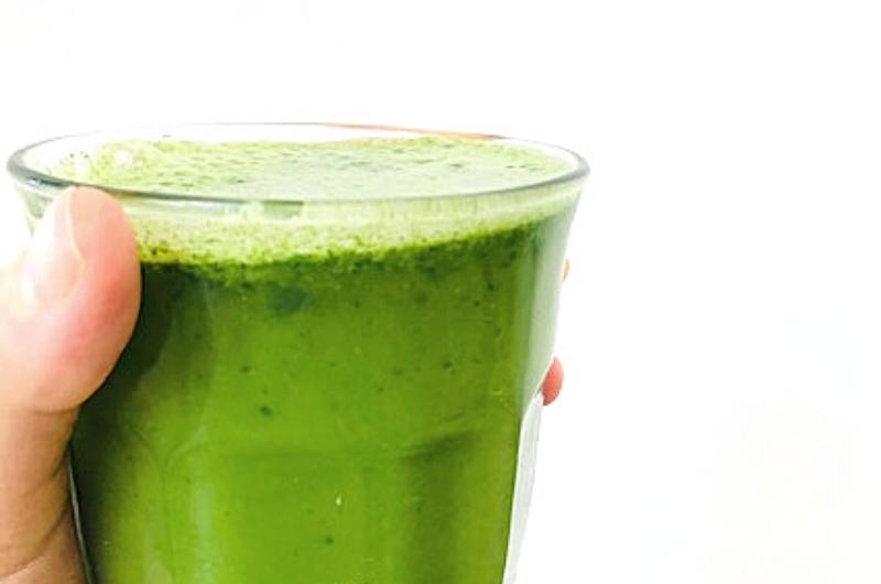Green Juice for Breakfast