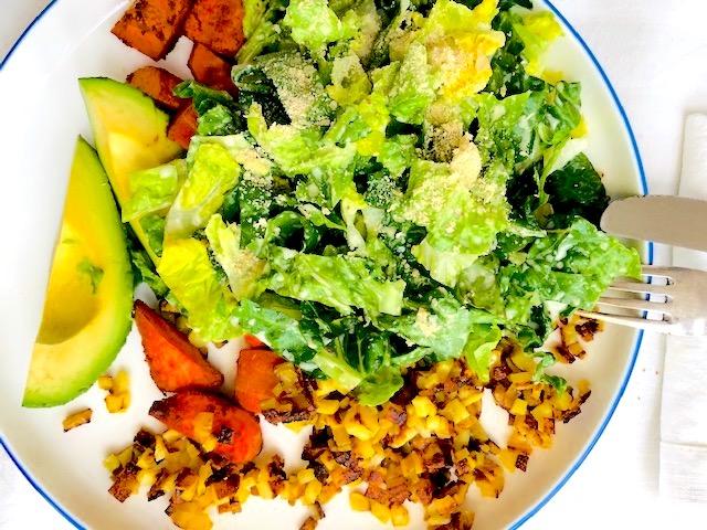 GFVG Caesar Salad dressing