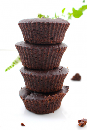 Vegan Brownie Cupcakes