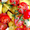 Two Easy Potato Marinades
