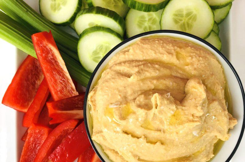 5 Minute Hummus