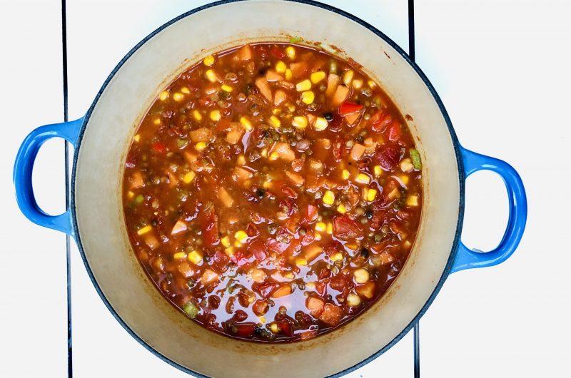 Quick GFVG Chili Recipe